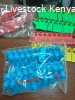 Ear tags and applicators for cows goats pigs sheep camel